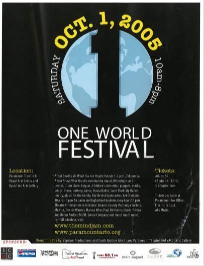 18 One World 2005 Flier